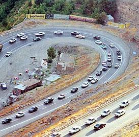 جاده چالوس از ۲۸ اسفند یکطرف میشود