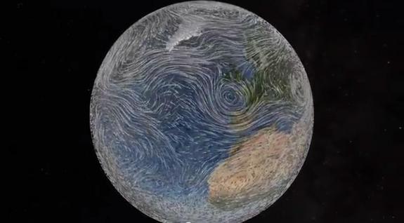 انیمیشن کره زمین جایزه اصلی مسابقه تجسم علمی را گرفت