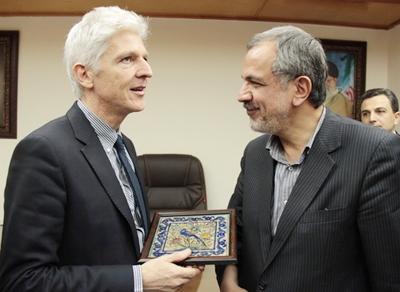 دیدار رئیس شورای اسلامی شهر تهران با وزیر میراث و فعالیت های فرهنگی و جهانگردی ایتالیا