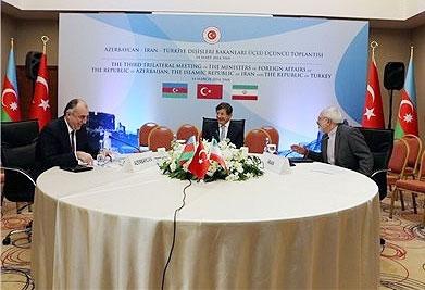 نشست سه جانبه ایران،ترکیه و جمهوری آذربایجان با صدوربیانیه پایان یافت