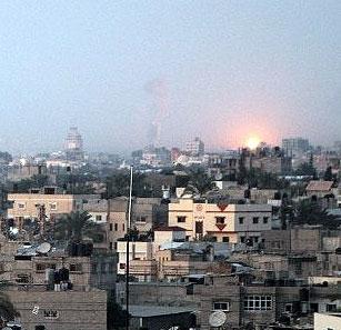 حزبالله لبنان و حماس حملات علیه نوار غزه را محکوم کردند