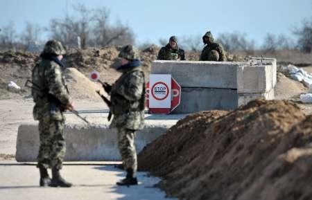 اوکراین گذرگاه های مرزی با کریمه را بست