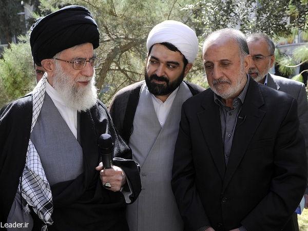شهردار تهران,حضرت آیتالله خامنهای,رهبری,رهبری 92,جهاد کشاورزی