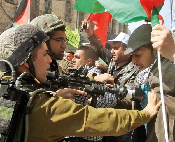 نوجوانان یهودی علیه ارتش صهیونیست