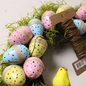 آشنایی با طرز ساخت حلقه تخم مرغی برای نوروز