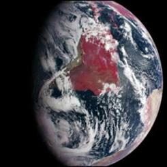 زمین قرمز، زمین سالم