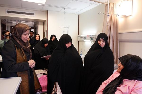 همسران اعضای دولت تدبیر و امید