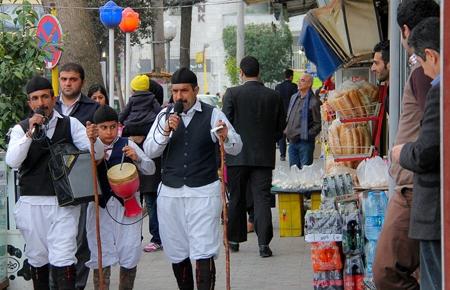 آیین نوروزخوانی در مازندران