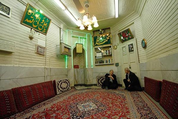 کوچکترین مسجد در تاریخیترین خیابان تهران