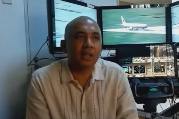 خلبان هواپیمای ناپدید شده مالزی کیست؟