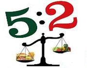 رژیم لاغریِ پنج: دو
