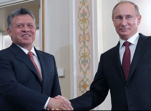 دیدار پادشاه اردن با پوتین در مسکو