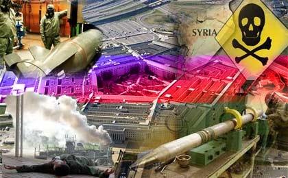 رد پای پنتاگون در سلاح های شیمیایی تروریست های سوریه