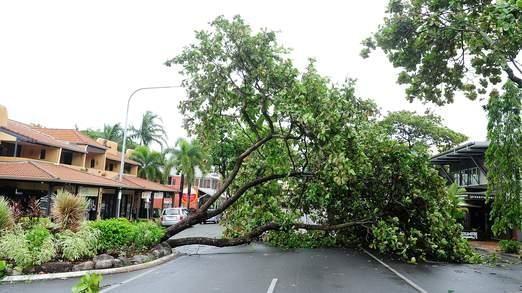 وزش گردباد و طوفان شدید در استرالیا
