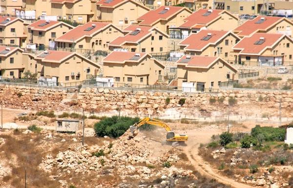 شهرک سازی - سرزمین اشغالی فلسطین