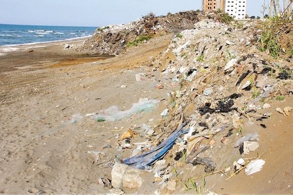 زباله-ساحل دریای خزر