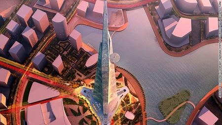برج کینگدام، سربهفلک کشیدهتر از برج خلیفه