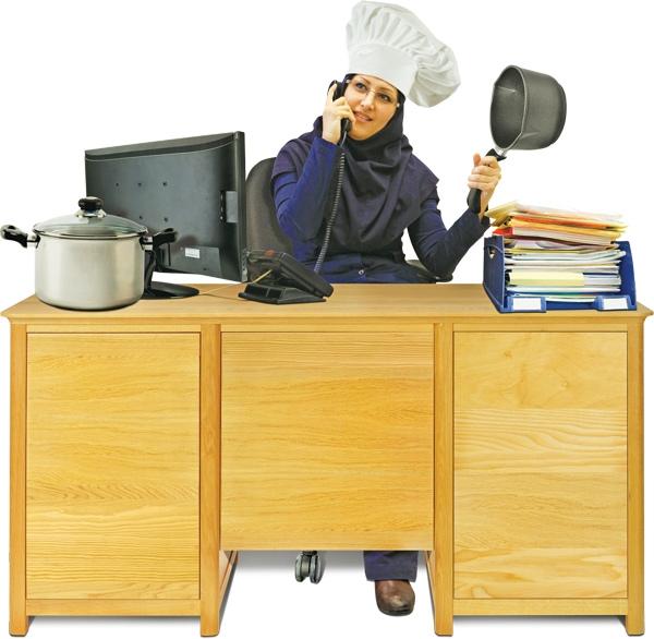 آشپزی به سبک کارمندی