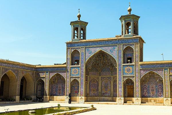 مسجد صورتی؛ نماد شکوه، عظمت و ستایش معماری ایرانی