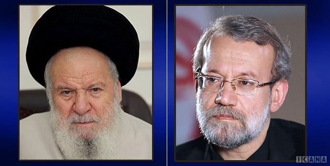 لاریجانی و موسوی اردبیلی