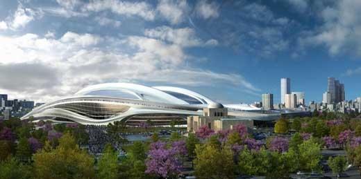 استادیوم المپیک ۲۰۲۰ ژاپن رونمایی شد