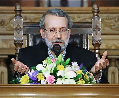 لاریجانی: قطعنامه اخیر اتحادیه اروپا سخیف و نسنجیده بود