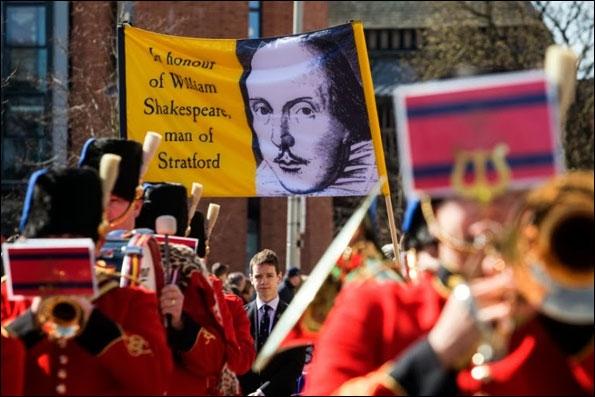 شکسپیر ۴۵۰ ساله میشود