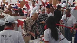 آغاز انتخابات پارلمانی در اندونزی