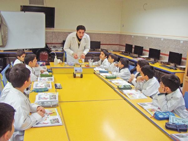 معلم-مدرسه