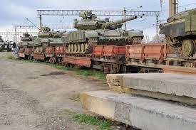 روسیه تسلیحات نظامی کریمه را به اوکراین تحویل داد