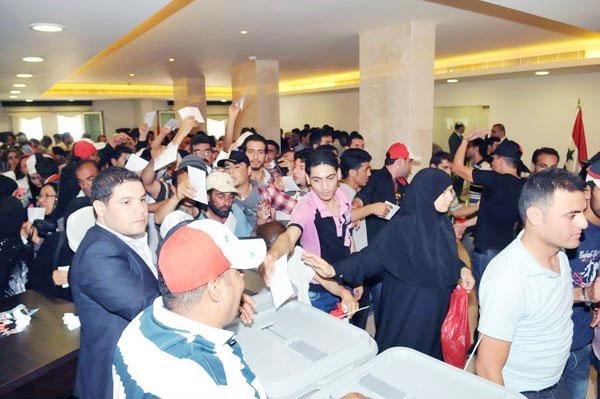 انتخابات ریاستجمهوری سوریه در خارج از کشور آغاز شد
