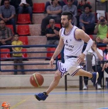 دانشگاه آزاد در جایگاه سوم لیگ برتر بسکتبال ایستاد