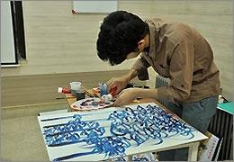 کارگاه دو روزه نقاشیخط مبعث برگزار میشود