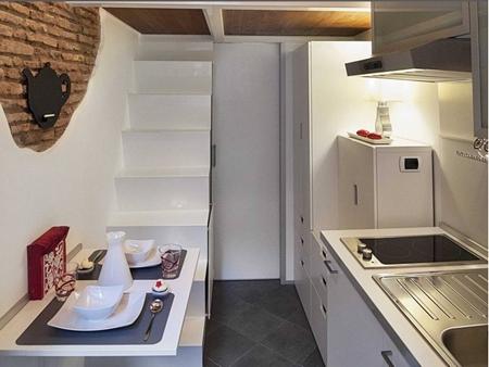 تصاویر کوچکترین خانه دنیا / آپارتمانی به مساحت ۷ متر مربع
