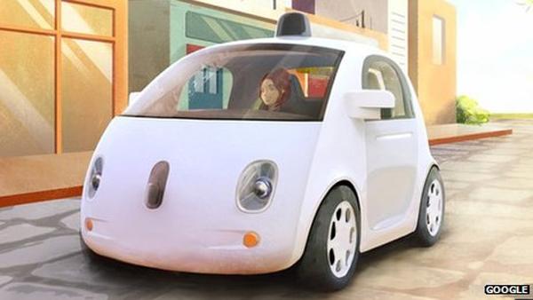 خودرو بدون راننده