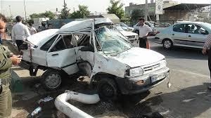 آمار کشتههای رانندگی و خوروهای خطرآفرین