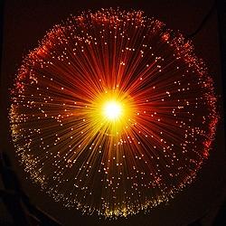 انفجار نور
