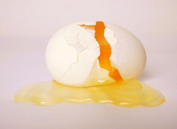 تخممرغ شکسته، سالم یا سمی؟