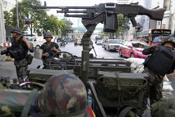 اعلام حکومت نظامی در تایلند