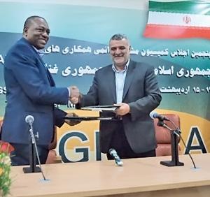 استقبال از کشاورزی ایران در غنا