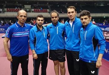 تیم ملی تنیس روی میز مردان
