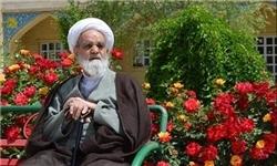 مراسم تشییع پیکر آیتالله زرندی در کرمانشاه برگزار شد