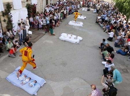 فستیوال پرش شیطان در اسپانیا
