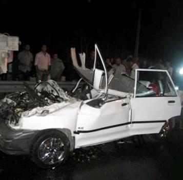 پنج عضو یک خانواده، قربانی بی احتیاطی راننده پراید شدند