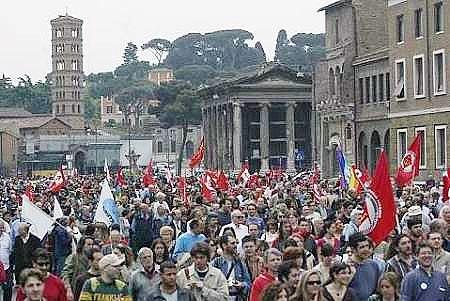 اعتصاب کارکنان شهرداری رم پایتخت ایتالیا را تعطیل کرد