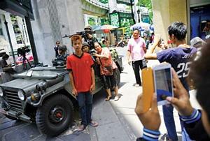 ارتش تایلند بهدنبال جذب مردم