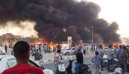 حمله تروریست ها به دانشگاه الانبار عراق