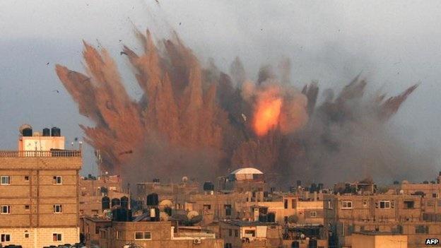 شمار شهدای فلسطینی در غزه به ۱۰۰ تن رسید