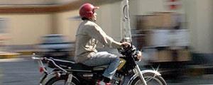موتورسواران با کلاه ایمنی ۴۰ درصد کمتر میمیرند