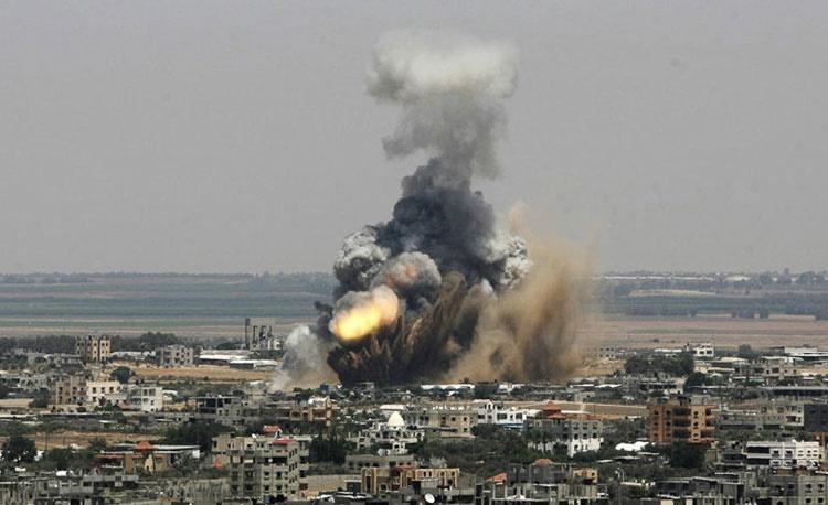 تصاویری از جنایتهای صهیونیستها در غزه